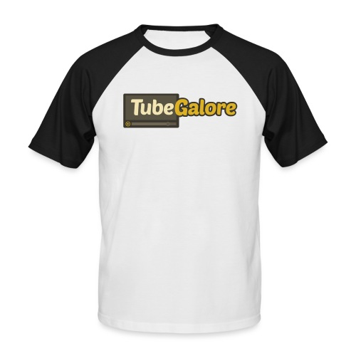 tubegalore design - Men's Baseball T-Shirt