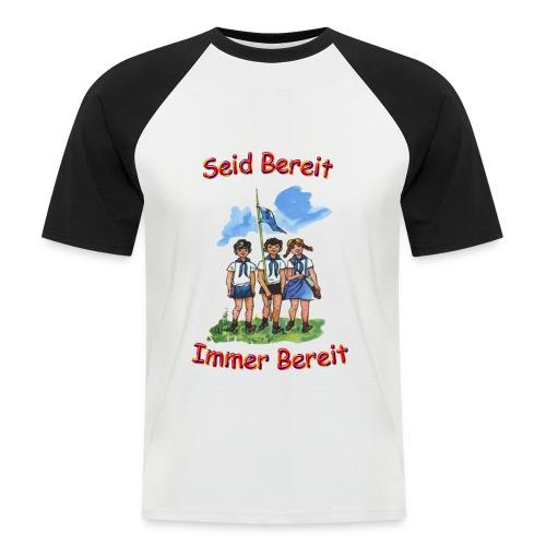 pioniere voran - Männer Baseball-T-Shirt