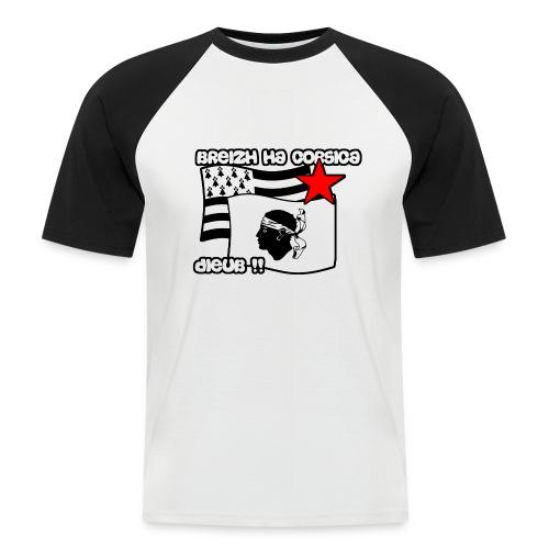 bzhflottantexportspread2 - T-shirt baseball manches courtes Homme