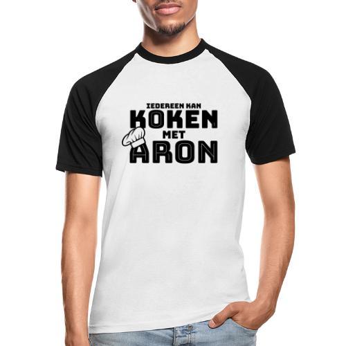 Koken met Aron - Mannen baseballshirt korte mouw