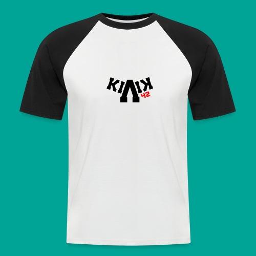 Killanowski42 Logo - Männer Baseball-T-Shirt
