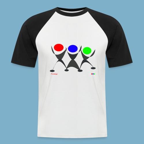 Fundago Logo - Männer Baseball-T-Shirt