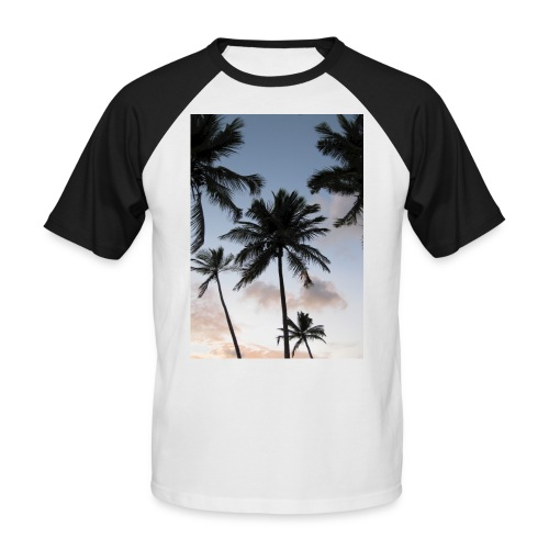 PALMTREES DOMINICAN REP. - Mannen baseballshirt korte mouw