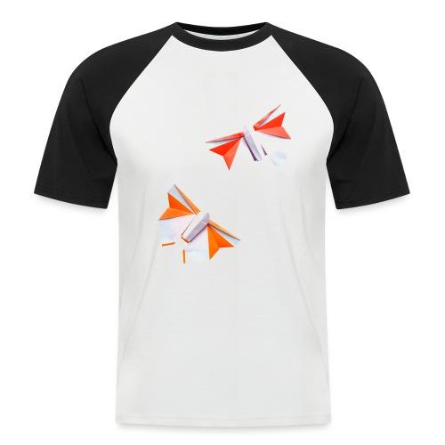 Butterflies Origami - Butterflies - Mariposas - Men's Baseball T-Shirt