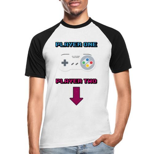 Retro Game All The Best Web Radio - Men's Baseball T-Shirt