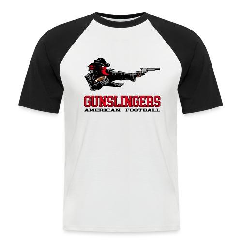 Logo groß - Männer Baseball-T-Shirt