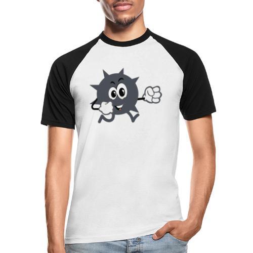 Logo démineur - T-shirt baseball manches courtes Homme