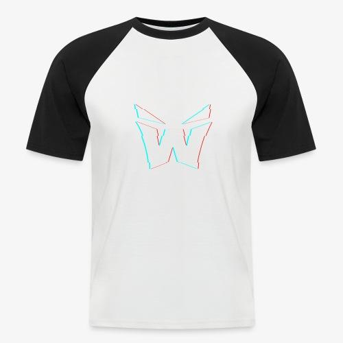 MAN'S VORTEX DESIGN - Men's Baseball T-Shirt