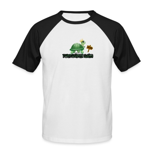 Turtle Neck Design 1 - Men's Baseball T-Shirt