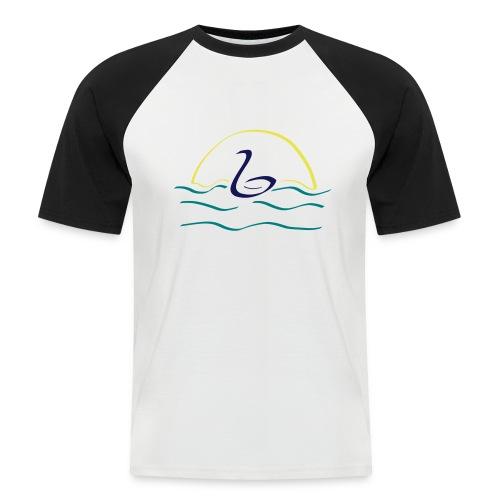 Swan - Mannen baseballshirt korte mouw