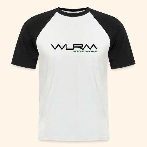 WLRM Schriftzug black png - Männer Baseball-T-Shirt