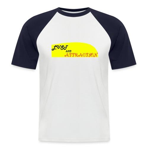 lust ans attraction - Men's Baseball T-Shirt