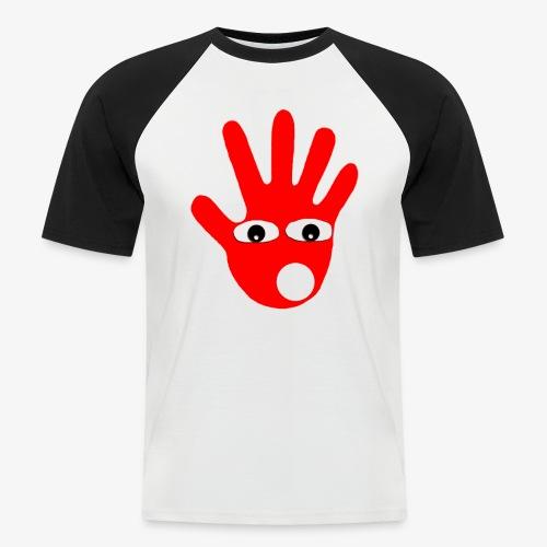 Hände mit Augen - T-shirt baseball manches courtes Homme