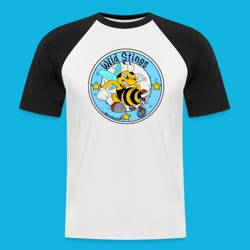 wildstings-spreadshirt - Männer Baseball-T-Shirt