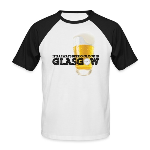 Beer O Clock - Men's Baseball T-Shirt