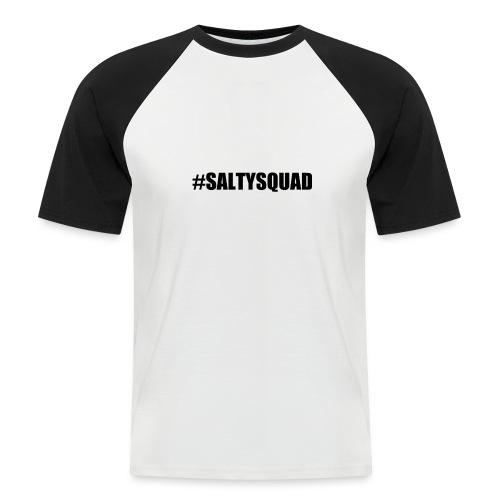 SaltySquad_black - Men's Baseball T-Shirt