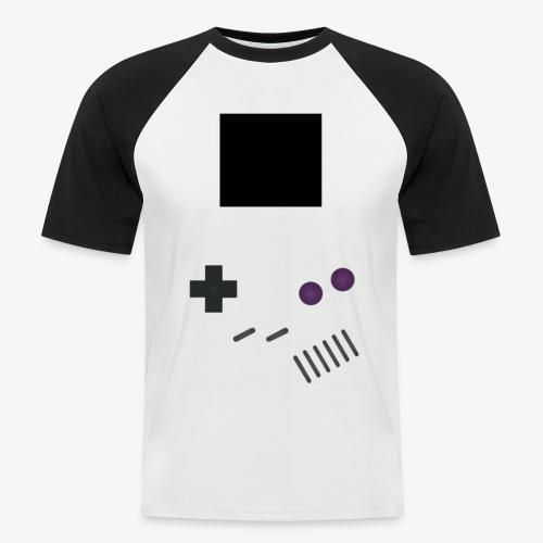 Console Rétro - T-shirt baseball manches courtes Homme