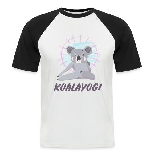 Koalayogi - Kortermet baseball skjorte for menn