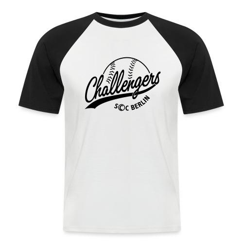 Challengers Logo - Männer Baseball-T-Shirt