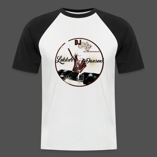 DJ An - Mannen baseballshirt korte mouw