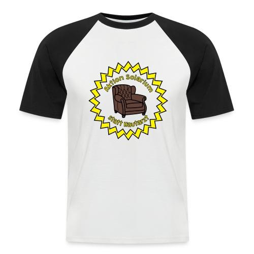 Solarium statt Hautarzt - Männer Baseball-T-Shirt