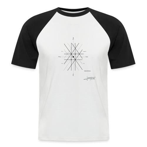 mathematique du centre_de_lunivers - T-shirt baseball manches courtes Homme