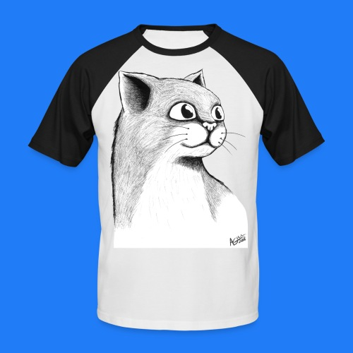 CAT HEAD by AGILL - T-shirt baseball manches courtes Homme