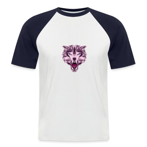 Wolf Dk - Kortærmet herre-baseballshirt