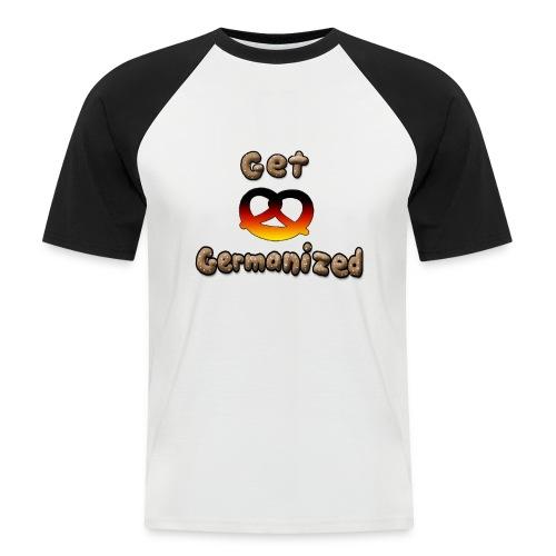 Get Germanized Pretzel - Men's Baseball T-Shirt