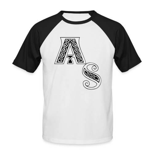 as - Männer Baseball-T-Shirt