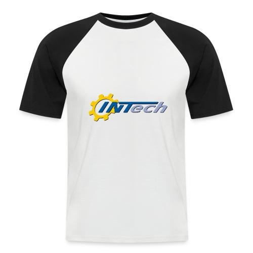 intech_logo - T-shirt baseball manches courtes Homme