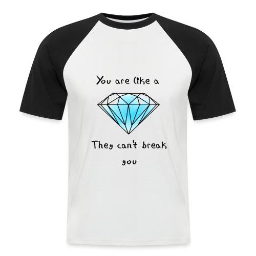diamond2 png - Men's Baseball T-Shirt