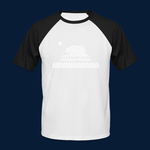 California Republic - Männer Baseball-T-Shirt