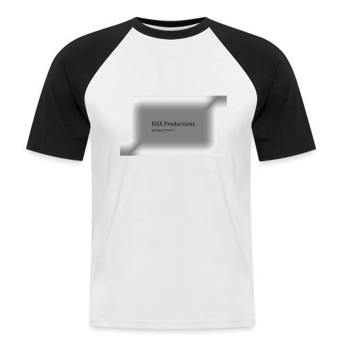 DAX Productions kledinglijn - Mannen baseballshirt korte mouw