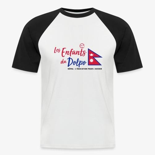 Les Enfants du Doplo - Grand Logo Centré - T-shirt baseball manches courtes Homme