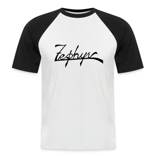 zephyr_logo - Kortärmad basebolltröja herr
