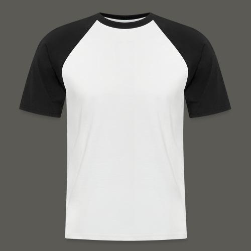CPHMASS_LOGO_Can - Kortærmet herre-baseballshirt