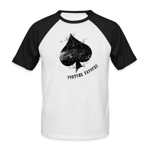 LOGO WORN SPADES - Men's Baseball T-Shirt