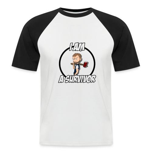 Game Survivant - T-shirt baseball manches courtes Homme