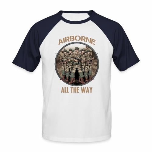 Airborne - Tout le chemin - T-shirt baseball manches courtes Homme