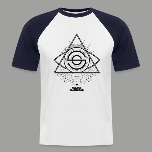 Dracunit symbol2 black - Kortärmad basebolltröja herr
