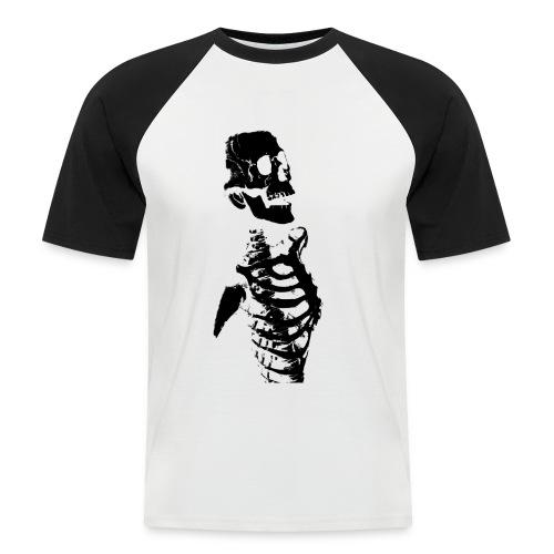 Skeleton - Maglia da baseball a manica corta da uomo