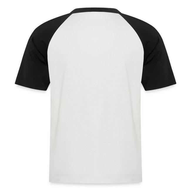 Vorschau: Vorsicht Herrchen - Männer Baseball-T-Shirt