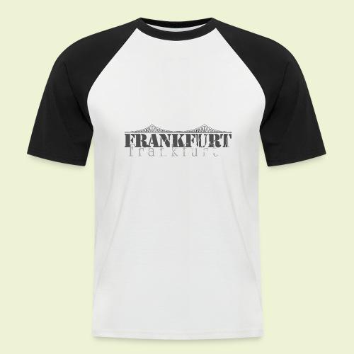 FFM - Frankfurt Skyline - Männer Baseball-T-Shirt