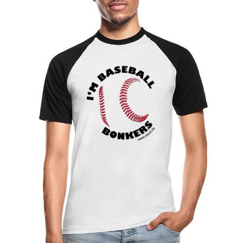 baseball-bonkers - Männer Baseball-T-Shirt