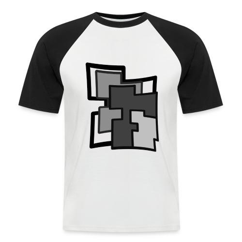 Abstraction - Camiseta béisbol manga corta hombre