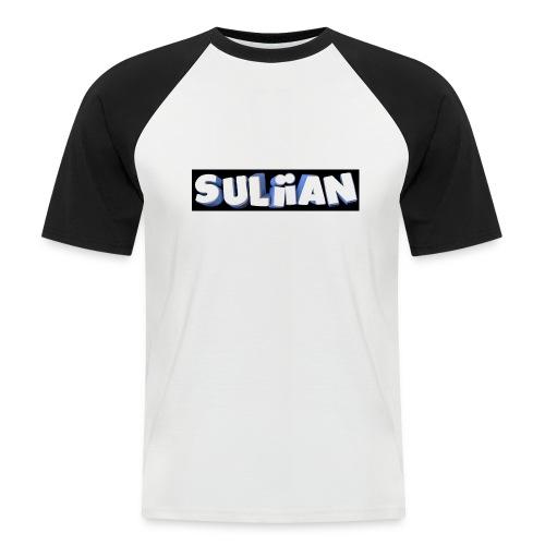 Suliian -Schrift 1 - Männer Baseball-T-Shirt