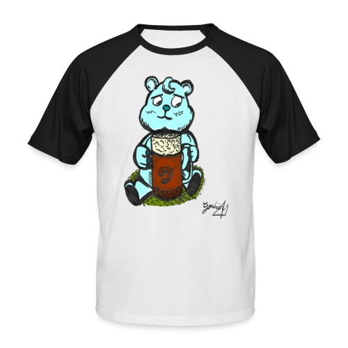 Ours Triste AngelerasCorp - T-shirt baseball manches courtes Homme