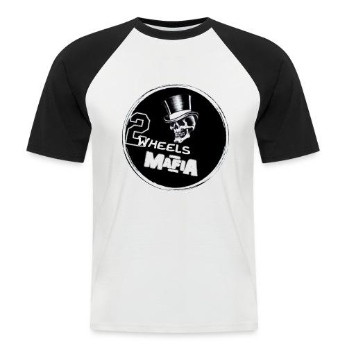 2WheelsMafia - Männer Baseball-T-Shirt