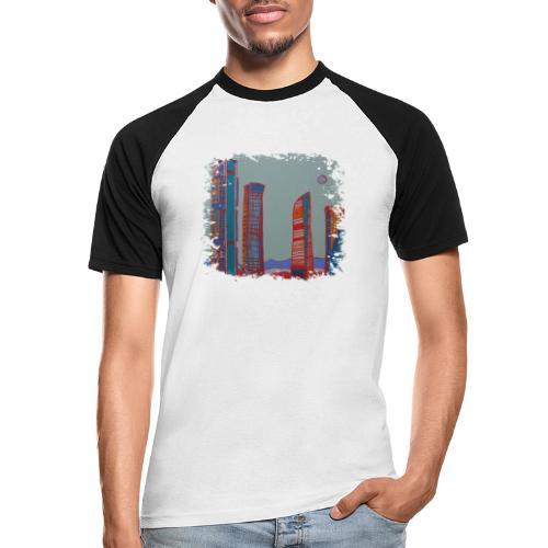 Madrid - Männer Baseball-T-Shirt